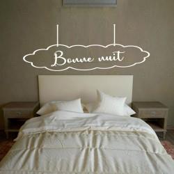 Sticker mural tête de lit...
