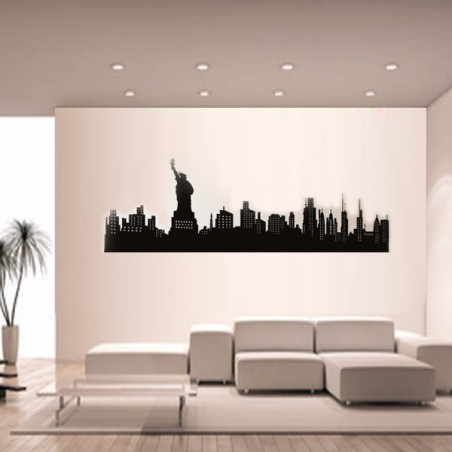 Sticker mural Ville New york
