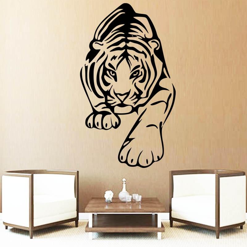 Sticker mural Animal sauvage Tigre