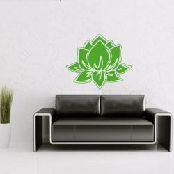 Sticker mural fleur de...