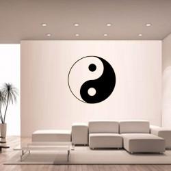 Sticker mural Yin Yang