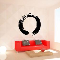 Sticker mural Cercle zen