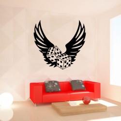 Sticker tuning dés et ailes...