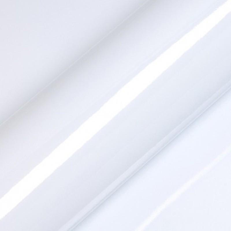 Vinyle adhésif au mètre couleur blanc brillant