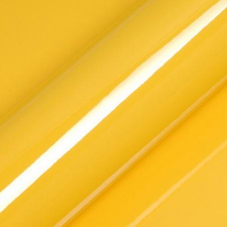 Vinyle adhésif au mètre couleur jaune brillant