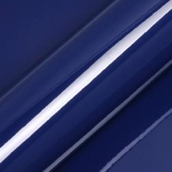 Vinyle adhésif au mètre couleur bleu nuit brillant