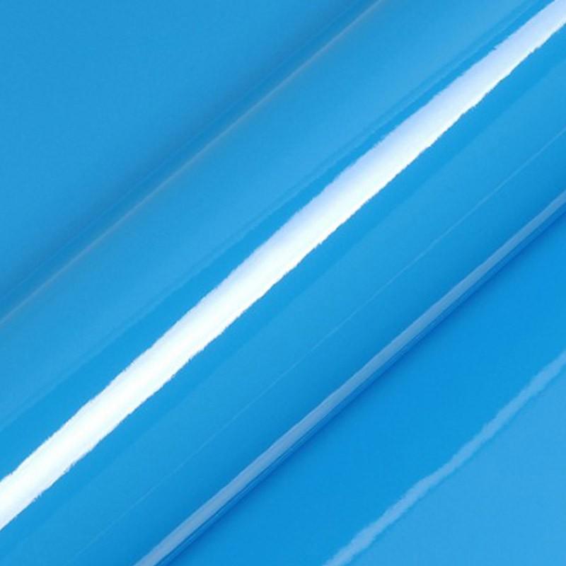 Vinyle adhésif au mètre couleur bleu brillant