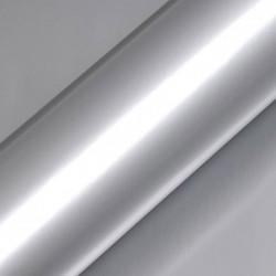 Vinyle adhésif au mètre couleur argent brillant