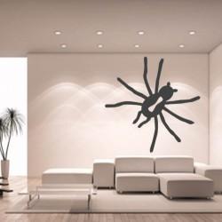Sticker mural décoration araignée Mygale Halloween