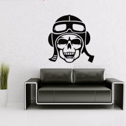 Sticker mural décoration skull ref 2