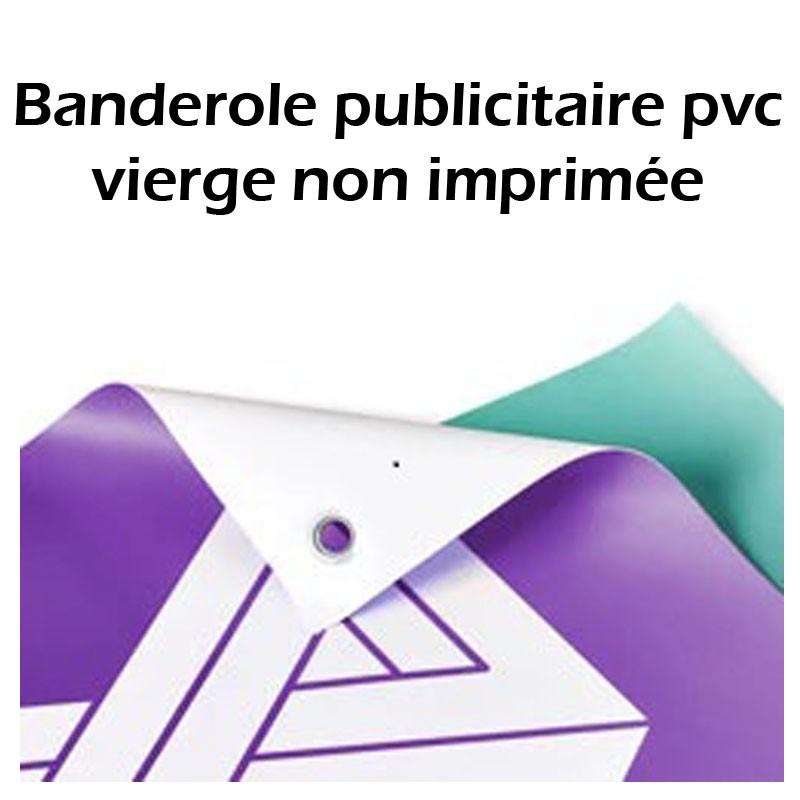 Banderole publicitaire pvc vierge