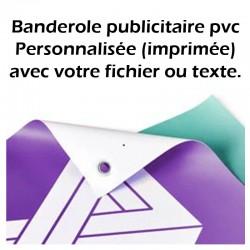 Banderole publicitaire pvc personnalisée (imprimée)