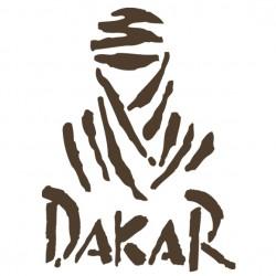 Sticker autocollant adhésif marque Dakar rallye