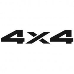 Sticker autocollant adhésif 4x4