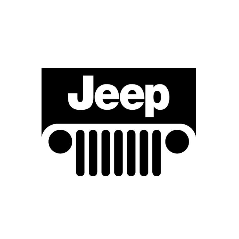 Sticker autocollant adhésif marque Jeep