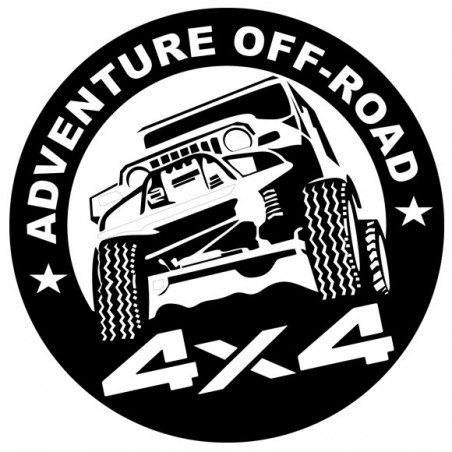 Sticker autocollant adhésif Off road adventure