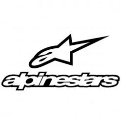 Sticker autocollant adhésif marque Alpine star ref 2