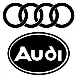 Sticker autocollant adhésif  marque Audi