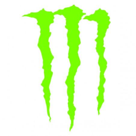 Sticker autocollant adhésif marque Monster energy ref 1