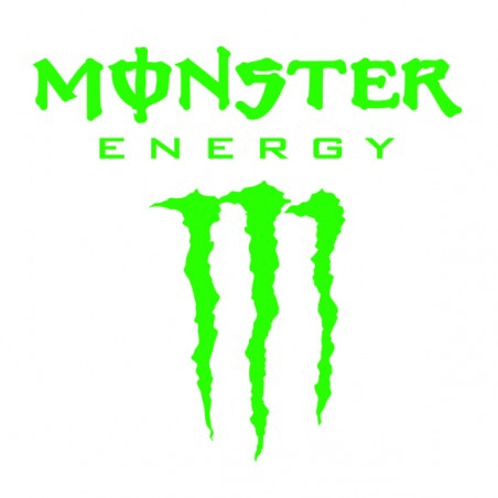Sticker autocollant marque Monster energy ref 3