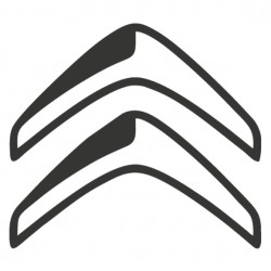 Sticker autocollant adhésif marque Citroen